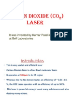 Co2 Laser its applications