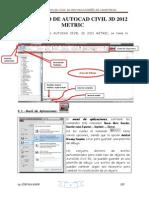 00 ENTORNO AUTOCAD CIVIL 3D 2012 y 01 DISEÑO DE ALINEAMIENTOS.pdf