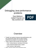 Debugging Java Performance