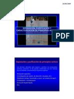 Separacion Purificacion y Caracterizacion de Principios Activos