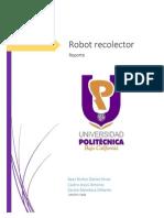 E1 Reporte Robot Seguidor-recolector 22 Abril 2014