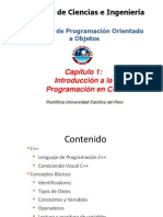 Capítulo 1 - Introducción a la programación en C++
