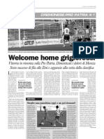 La Cronaca 02.11.2009