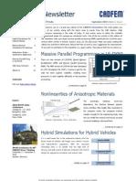 CADFEM ENewsletter Vol3 Issue1