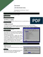 Compiling Linux Kernel Draft