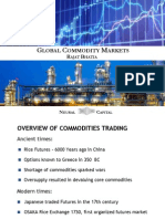 Global Commodity Markets