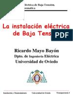 Instalacion Electrica de BT1.Aparamenta
