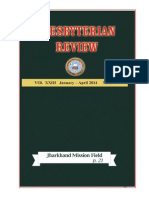 Presbyterian Review - January_April, 2014