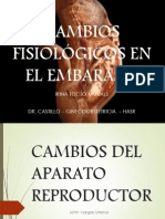 Expo Cambiso Fisiologicos Del Embarazo
