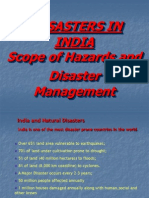 Disaster Managment in India