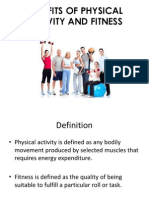 Benefits on Physical Activity