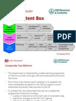 Patent Box Presentation120112