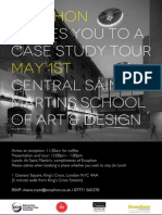 Saint Martins Case Study Invite