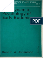 Johansson - Dynamic Psychology Early Buddhism
