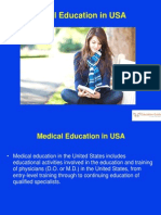 Medical Education in USA