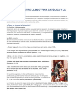 Diferencias Entre La Doctrina Católica y La Biblia