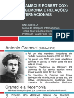 94060561 Gramsci e Robert Cox Hegemonia e Relacoes Internacionais