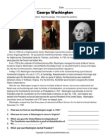 www educatorworksheets com social studies presidents reading comprehension george washington george washington