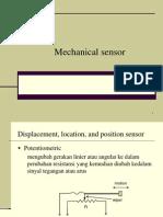 sensor mekanik