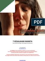 7_Kesalahan_Wanita