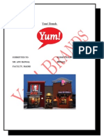Project of Yum Brands 1