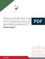 GamCrowd Whitepaper on Gambling and Crowdsourcing