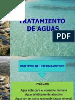 Ing. Ambiental. Pretratamiento y Tratamientos