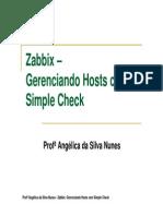9 - Zabbix - Simple Checks