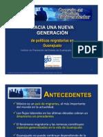 Hacia una Nueva Generación de Políticas Migratorias en Guanajuato