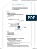 Metakaolin - Measuring the Total Quantity of Fixed Calcium Hydroxide (Chapelle Test Modified) Referring to the French Norm NF P 18-513, Annexe A