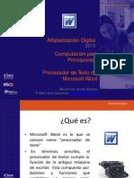 04.- El Procesador de Texto de Word