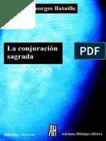 09+-+Georges-Bataille-La-conjuracion-sagrada+COMPLETO