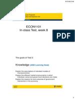ECON1101 How to write an Economics Answer