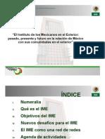 El Instituto de los Mexicanos en el Exterior