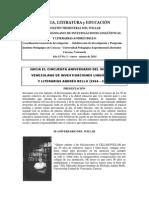 Lengua, Literatura y Educación No. 59 Enero-marzo 2014