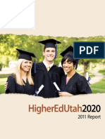 Utah Higher Education 2020 Report