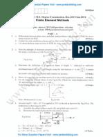 Finite Element Methods Jan 2014