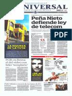 GCPRESS Planas Principales Medios México Vier 25 Abr 2014