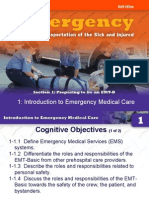 Chapter 1 Introduction to Emergency Medical Care