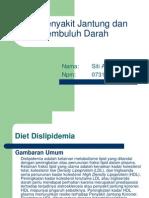 Diet Penyakit Jantung Dan Pembuluh Darah GIZI II