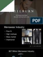 J Hilburn Business Opportunity - April 2014 - Michael Edwards