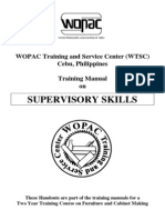 Supervisory Skills Training Manual