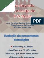 Capitulo 2 - Investigando o Conceito de Estratégia