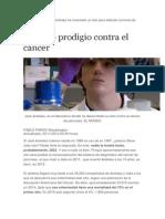 BIOMEDICINA Jack Andraka Ha Inventado Un Test Para Detectar Tumores de Páncreas
