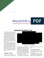 mc2100 carburetor install on Jeep 258