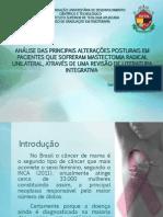 Apresentação Análise Das Principais Alterações Posturais Em Pacientes Que