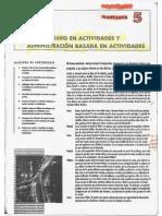 Capítulo 5 - Contabilidad de Costos - De Horngren
