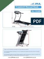 Jll d100 Folding Treadmill Manual