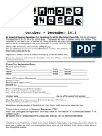 Chess Club Sept 2013 Registration Flier2