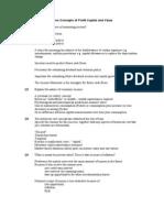 WK4 Seminar Solutions Concepts of Profit Capital and Value